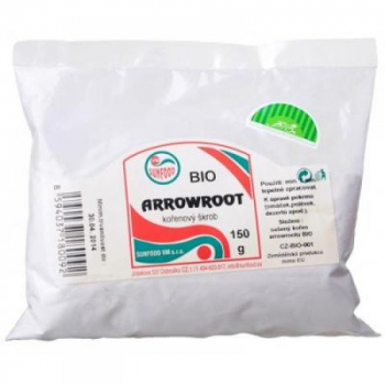 SUNFOOD Arrowroot  koreňový škrob BIO 150 g