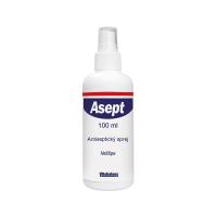 ASEPT Sprej dezinfekčný na rany 12x 100 ml