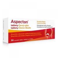 APOTEX Aspecton tablety na kašeľ čierne ríbezle 30 ks