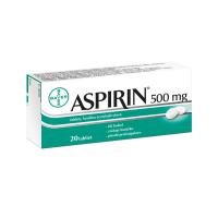 ASPIRIN® 500 mg 20 tabliet