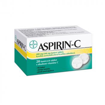 ASPIRIN®-C 20 šumivých tabliet