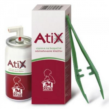 JM SANTE Atix súprava na bezpečné odstraňovanie kliešťov 1 set