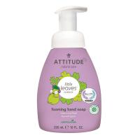 ATTITUDE Little leaves detské penivé mydlo na ruky s vôňou vanilky a hrušky 295 ml