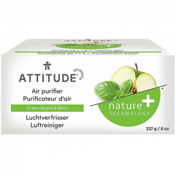 ATTITUDE Prírodný čistiaci osviežovač vzduchu s vôňou zeleného jablka a bazalky 227 g