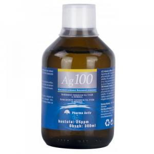 PHARMA ACTIV Koloidné striebro Ag 100 25 ppm 300 ml