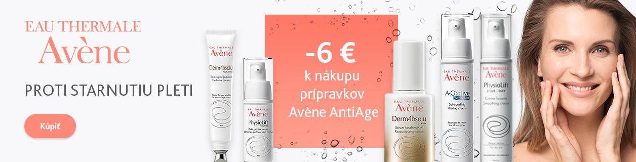 Zľava 6 € na Avène