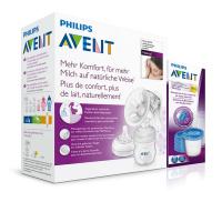 PHILIPS AVENT Manuálna odsávačka Natural so zásobníkom 125 ml + VIA