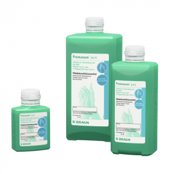 PROMANUM Pure Dezinfekčný prostriedok na ruky 1000 ml