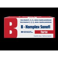 SANOFI B-Komplex forte 20 dražé