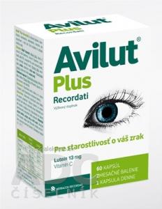 AVILUT Plus Recordati 60 kapsúl