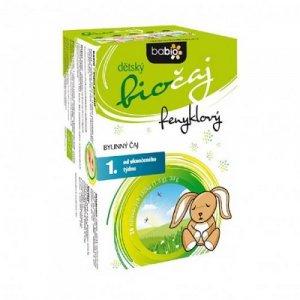BABIO Detský feniklový čaj BIO 20x1,5 g