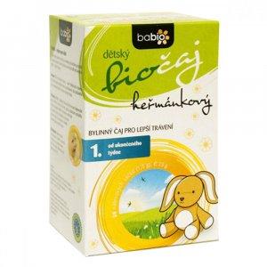 BABIO Detský čaj kamilkový BIO 20x1,5 g
