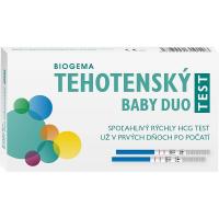 BABY TEST DUO tehotenský test 1 x 2 ks