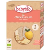 BABYBIO Nemliečna ryžová kaša s quinoou a ovocím BIO 200 g 30.09.2021