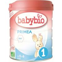 BABYBIO Primea 1 Počiatočné dojčenské mlieko od 0-6 mesiacov BIO 800 g