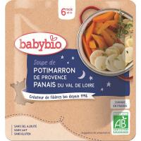 BABYBIO tekvicová polievka s paštrnákom 190 g