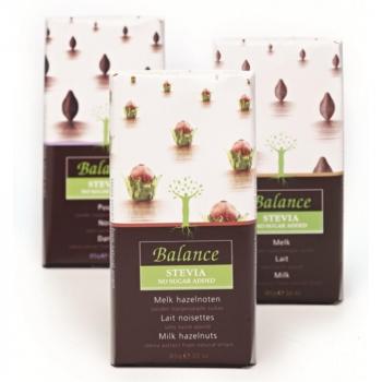 BALANCE Mliečna čokoláda s lieskovými orieškami 85 g