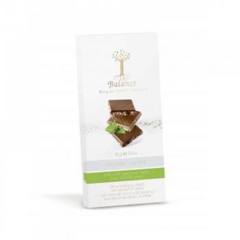 BALANCE Mliečna  čokoláda so sladidlom zo stévie s kokosom a chrumkami 85 g