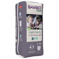 BAMBO Dreamy Night Pants 4 až 7 rokov Girl 15-35 kg 10 ks