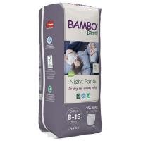 BAMBO Dreamy Night Pants 8 až 15 rokov Girl 35-50 kg 10 ks