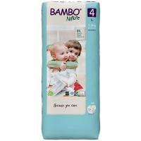 BAMBO Nature 4 Detské plienkové nohavičky 7-14 kg 48 ks