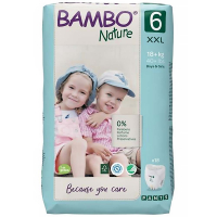 BAMBO Nature Pants 6 Navliekacie tréningové plienkové nohavičky 18+ kg 18 ks