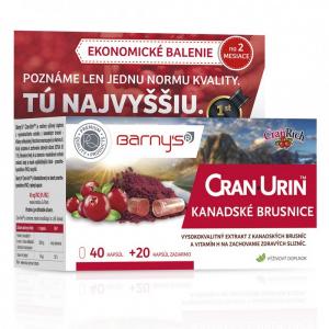 BARNY'S Cran-Urin kanadské brusnice 60 kapsúl