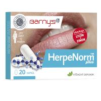 BARNY'S HerpeNorm plus 20 kapsúl