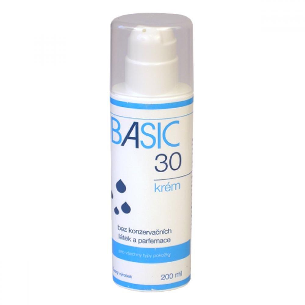 BASIC 30 KREM VSETKY TYPY POKOŽKY 200 ml