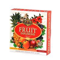 BASILUR Fruit Infusions Assorted darčeková kolekcia čajov 40 sáčkov