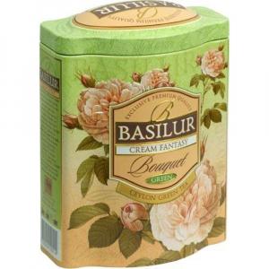 BASILUR Green Tea Cream Fantasy zelený čaj 100 g