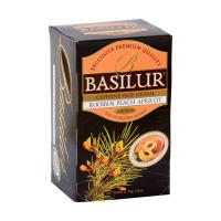 BASILUR Rooibos Peach Apricot bylinný čaj 20 sáčkov