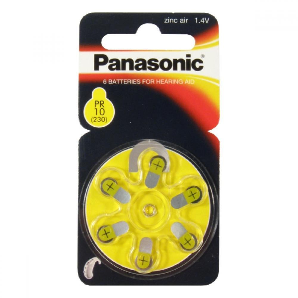 Batérie do načúvacích prístrojov PR- 230 h (10) / 6LB Panasonic
