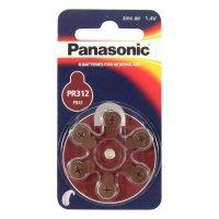 Batérie do načúvacích prístrojov PR-312L (41) / 6LB Panasonic