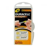 Batérie do audiofóny Duracell DA10P6 Easy Tab 6ks