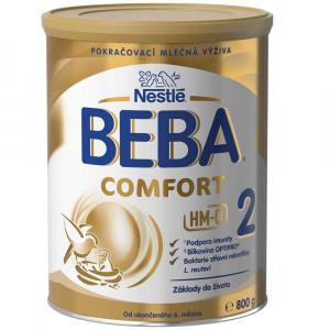 NESTLÉ BEBA Comfort 2 HM-O Pokračovacie mlieko od ukončeného 6. mesiaca 800 g