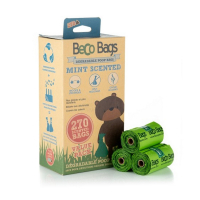 BECO Bags EKO Vrecká na exkrementy s mätovou vôňou 270 ks