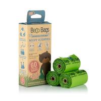 BECO Bags EKO Vrecká na exkrementy s mätovou vôňou 60 ks