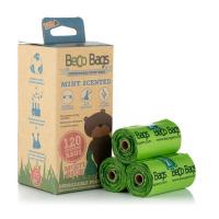 BECO Bags EKO Vrecká na exkrementy s mätovou vôňou 120 ks
