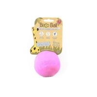 BECO Ball EKO loptička pre psov - ružová L