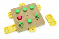 BEEZTEES Interaktívna drevená hračka ANUBI 32 cm