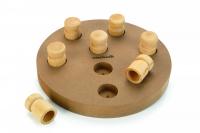 BEEZTEES Interaktívna drevená hračka GIONO 2v1 25 cm