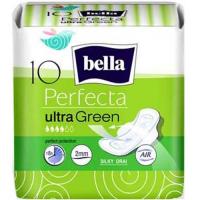 BELLA Hygienické vložky perfecta green 10 kusov v balení