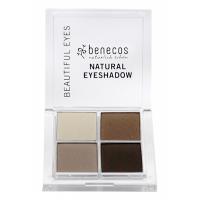 BENECOS Očné tiene 4paletka Coffee & cream BIO 8 g