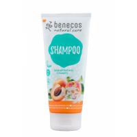 BENECOS Šampón na vlasy Marhuľa a bazový kvet BIO 200 ml