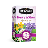 BERCOFF KLEMBER Čaj Nervy a stres 20 vrecúšok