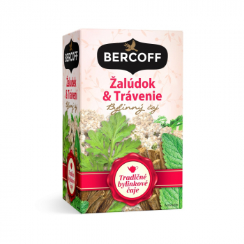BERCOFF KLEMBER Čaj Žalúdok a trávenie 20 vrecúšok