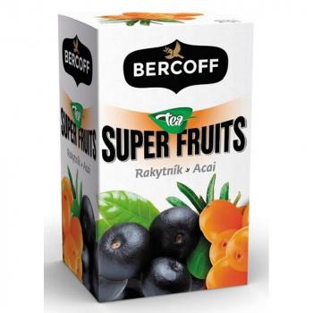 BERCOFF KLEMBER Super Fruit Rakytník Acai 20 vrecúšok