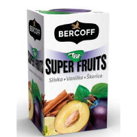 BERCOFF KLEMBER Super Fruit Slivka, Vanilka, Škorica 20 vrecúšok
