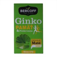 BERCOFF KLEMBER wellness čaj Ginko Biloba